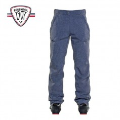 Pantalon de ski ROSSIGNOL Interstellar Bleu chiné Hommes