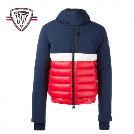 Doudoune de ski rossignol 1907 odysseus bomber rouge homme for Housse de velo intersport