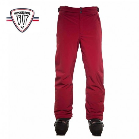 Pantalon de ski rossignol 1907 gravity rouge homme sport for Housse de velo intersport
