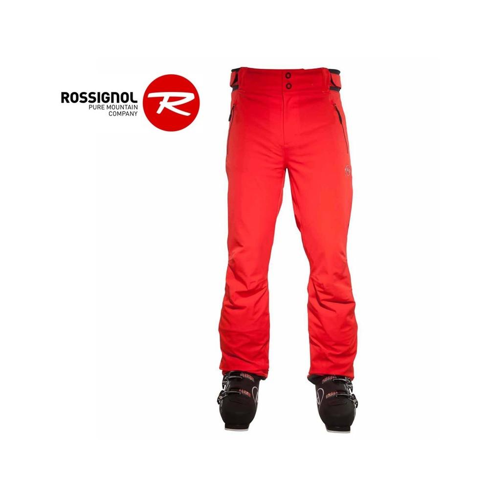 pantalon de ski rossignol heroes rouge orang homme. Black Bedroom Furniture Sets. Home Design Ideas