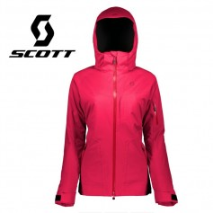 Veste de ski SCOTT Ultimate DRX Rose Femme
