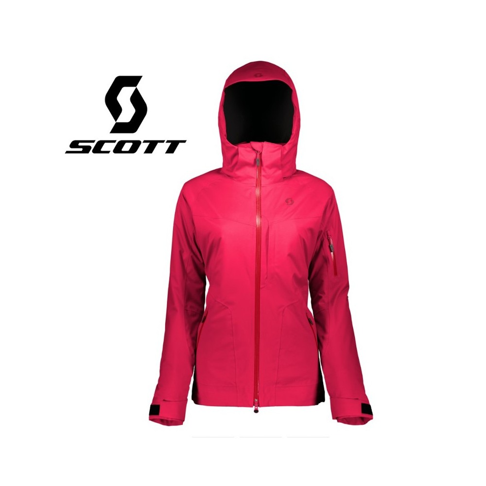Veste de ski SCOTT Ultimate DRX Rose Femme