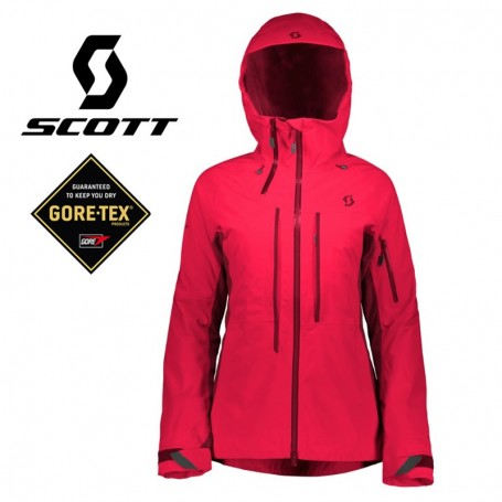 Veste de ski SCOTT Ultimate GTX Rose Femme