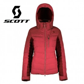 Doudoune de ski SCOTT Ultimate Down Framboise / Bordeau Femme
