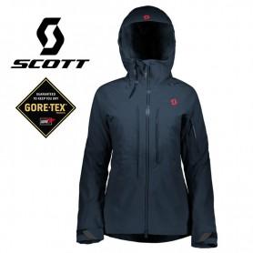 Veste de ski SCOTT Ultimate GTX Bleu nuit Femme