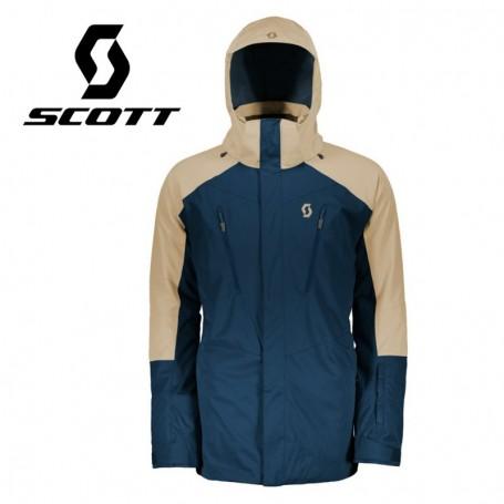 Veste de ski SCOTT Ultimate Dryo 20 Beige / Bleu Homme