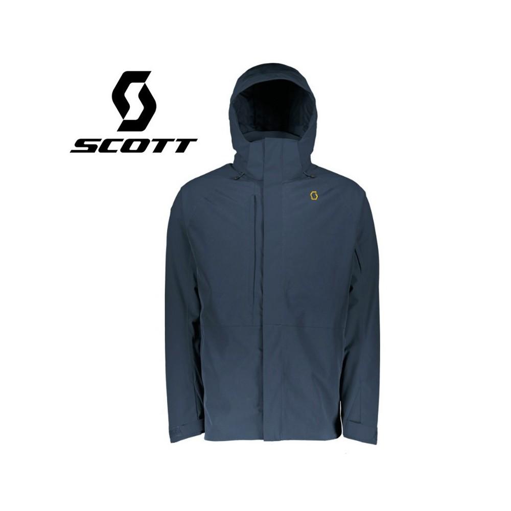 Veste de ski SCOTT Ultimate Dryo 40 Bleu gris Homme
