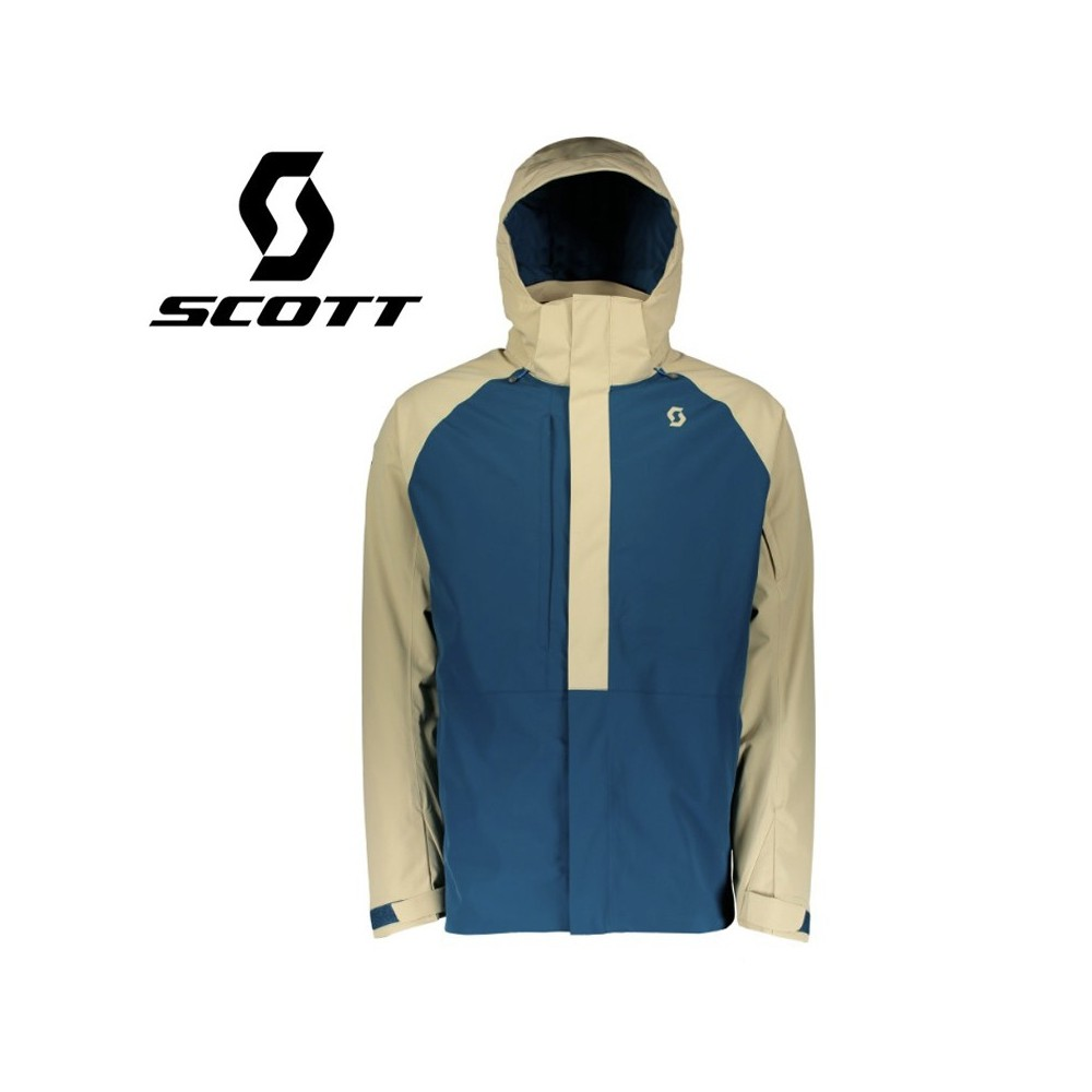 Veste de ski SCOTT Ultimate Dryo 40 Beige / Bleu Homme