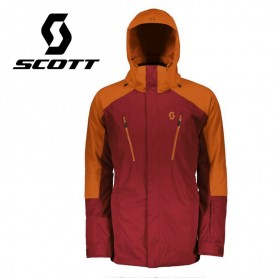 Veste de ski SCOTT Ultimate Dryo 20 Rouge / Orange Homme