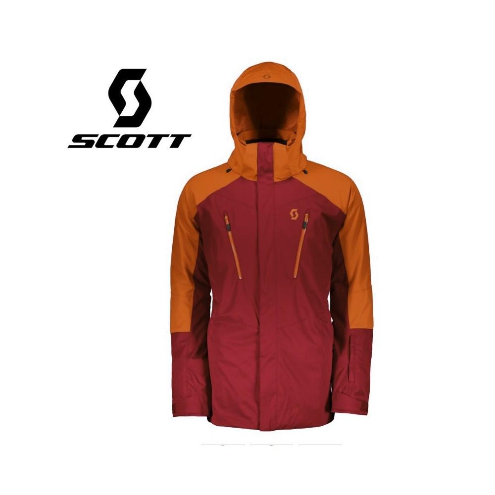 Veste de ski SCOTT Ultimate Dryo 20 Rouge / Orange Homme