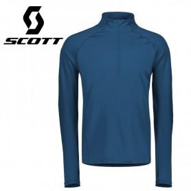 Maillot thermique SCOTT Defined Mid Bleu Homme
