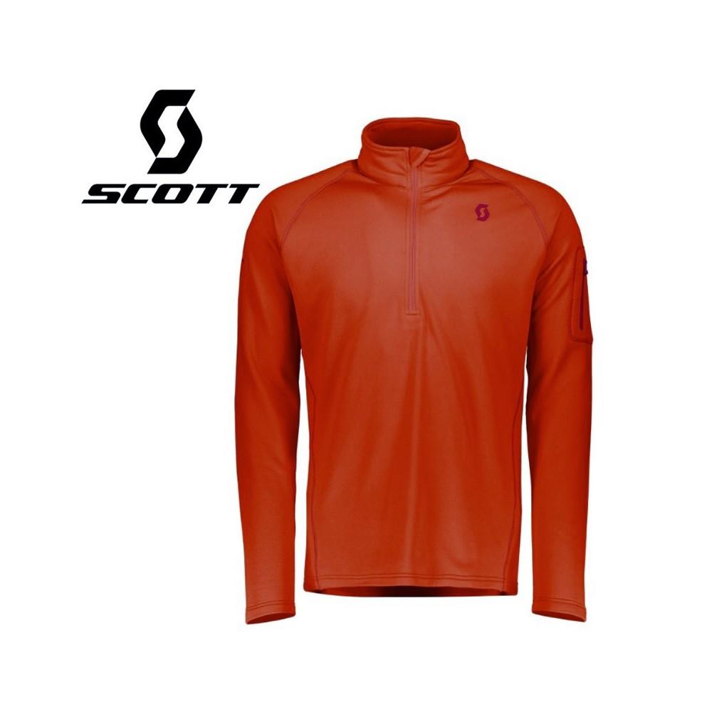 Maillot thermique SCOTT Defined Light Orange Homme