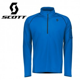 Maillot thermique SCOTT Defined Light Bleu Homme