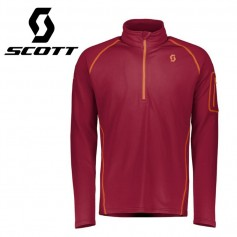 Maillot thermique SCOTT Defined Light Rouge Homme