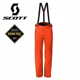 Pantalon de ski SCOTT Ultimate GTX Orange Homme