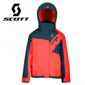 Veste de ski SCOTT Ultimate Dryo 10 Bleu / Melon Fille