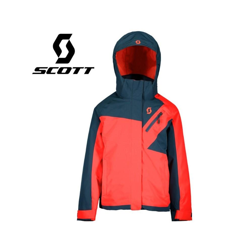 Veste de ski SCOTT Ultimate Dryo 10 Bleu / Melon Fille