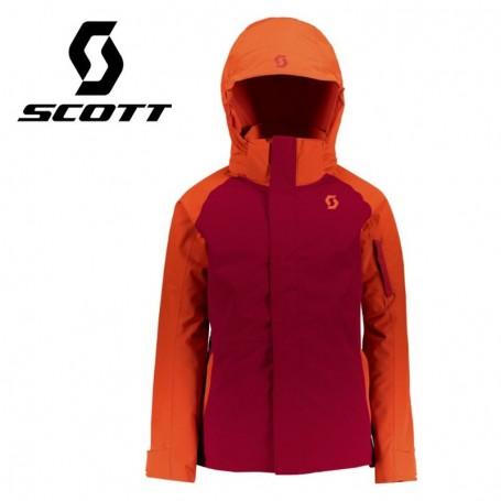 Veste de ski SCOTT Ultimate Dryo 10 Rouge / Orange Garçon