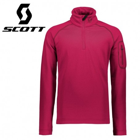Maillot thermique SCOTT Defined Light Fushia Junior