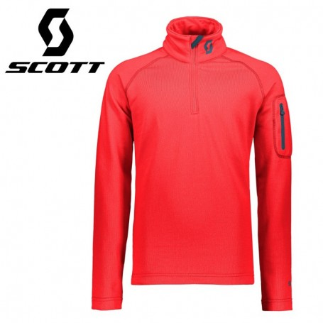 Maillot thermique SCOTT Defined Light Melon Junior