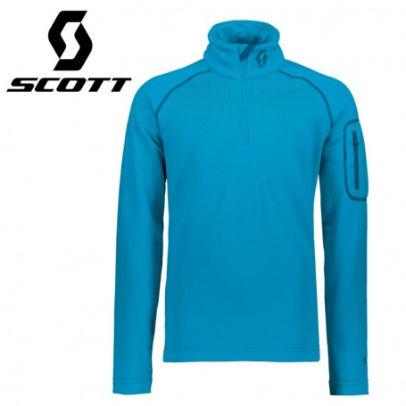 Maillot thermique SCOTT Defined Light Bleu clair Junior
