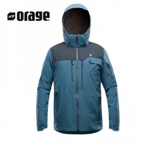 Veste de ski ORAGE Alaskan Bleu Homme