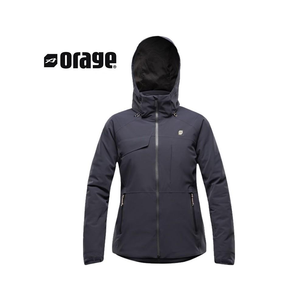 Veste de ski ORAGE Grace Indigo Femme
