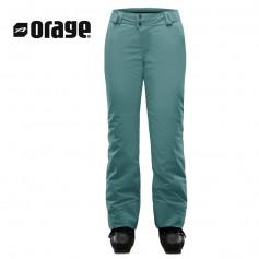Pantalon de ski ORAGE Chica Bleu Femme