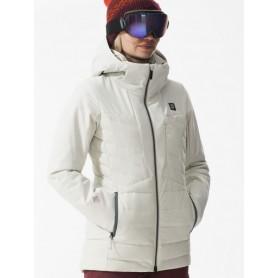 Doudoune de ski ORAGE Jasmine Crème Femme