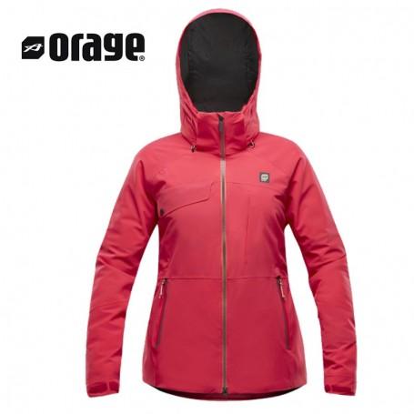 Femme Rose De Prix Veste Shell A Sans Sport Tout Orage Ski Isolation Grace lcJK3uTF1