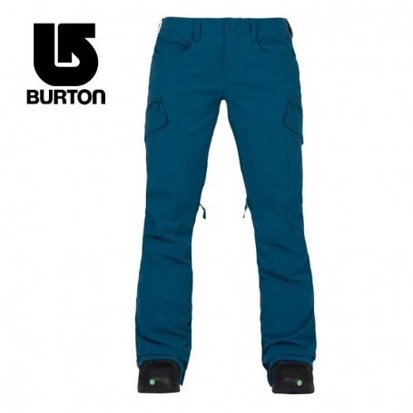 Pantalon de ski BURTON Gloria Bleu Femme