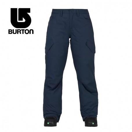 Pantalon de ski BURTON Fly Bleu Indigo Femme