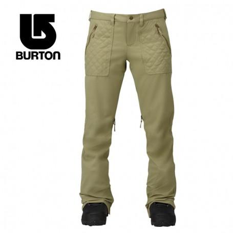 Pantalon de ski BURTON Vida Vert Femme