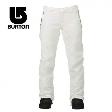 Pantalon de ski BURTON Society Blanc Femme