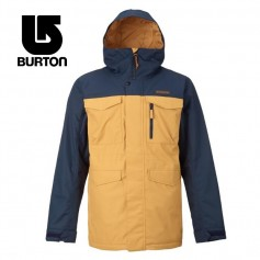 Veste de ski BURTON Covert Bleu / Moutarde Femme