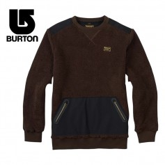 Sweat polaire BURTON Tribute Marron Homme