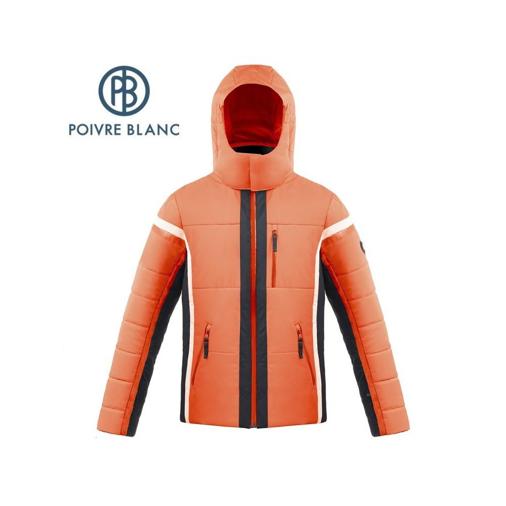 Veste de ski POIVRE BLANC W17-900 MN Orange Homme