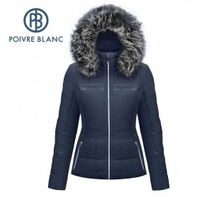 Veste de ski POIVRE BLANC W17-1002 WO/A Bleu marine Femme