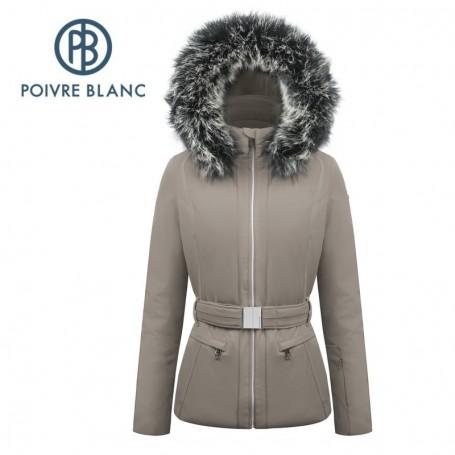 Veste de ski POIVRE BLANC W17-0801 WO/A Nougat Femme