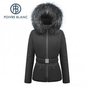 Veste de ski POIVRE BLANC W17-0801 WO/A Noir Femme