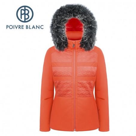 Veste de ski POIVRE BLANC W17-0803 WO/A Orange Femme