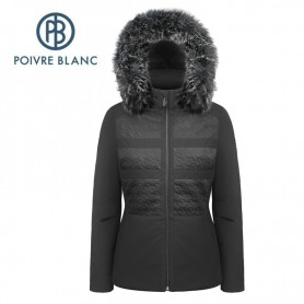Veste de ski POIVRE BLANC W17-0803 WO/A Noir Femme