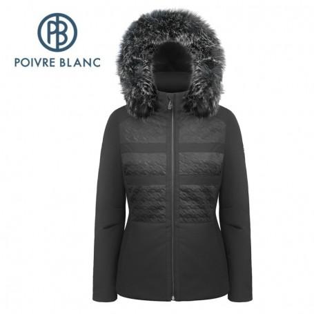 Veste Destockage D'hiver Le Blanc En Poivre Pour Ski cRSAL35j4q