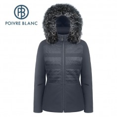 Veste de ski POIVRE BLANC W17-0803 WO/A Bleu marine Femme