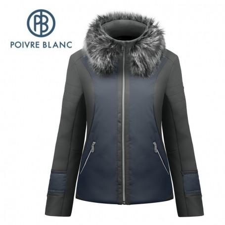 Veste Softshell POIVRE BLANC W17-1101 WO/A Noir / Bleu Femme