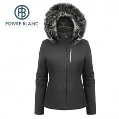 Blouson de ski POIVRE BLANC W17-0802 WO/A Noir Femme
