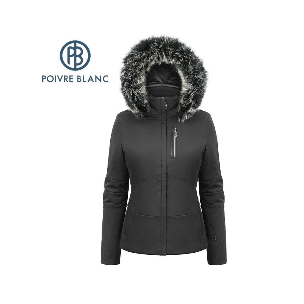 Veste de ski POIVRE BLANC W17-0802 WO/A Noir Femme