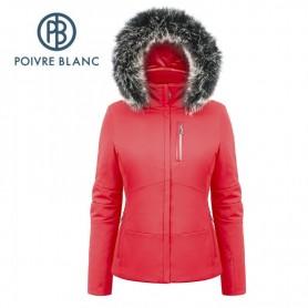 Veste de ski POIVRE BLANC W17-0802 WO/A Rouge Femme