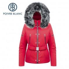 Blouson de ski POIVRE BLANC W17-0804 WO/A Rouge Femme