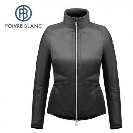 Veste légère POIVRE BLANC W17-1254 WO Noir Femme